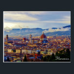 """Florence Postcard<br><div class=""""desc"""">Florence from Piazza Michelangelo.</div>"""
