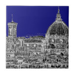 Florence royal blue tile