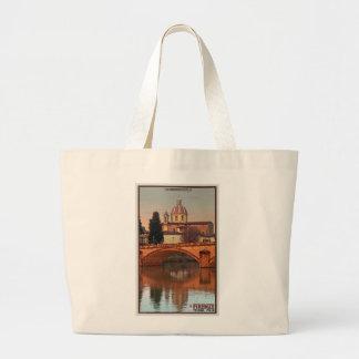 Florence - San Frediano in Cestello Jumbo Tote Bag