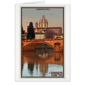 Florence - San Frediano in Cestello Greeting Card
