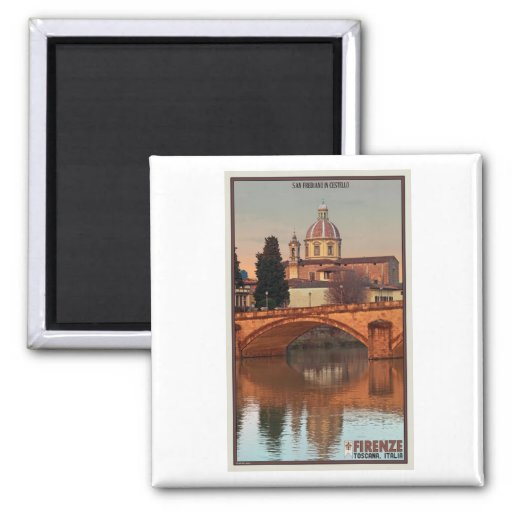 Florence - San Frediano in Cestello Fridge Magnet