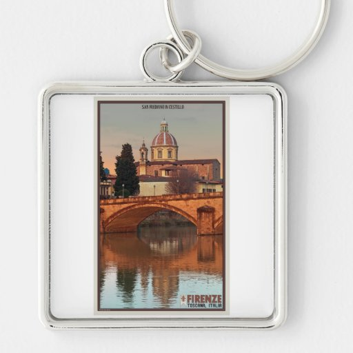 Florence - San Frediano in Cestello Keychain