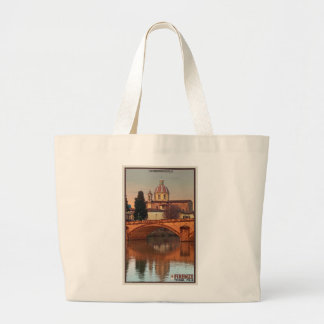 Florence - San Frediano in Cestello Large Tote Bag