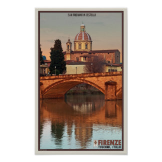 Florence - San Frediano in Cestello Poster