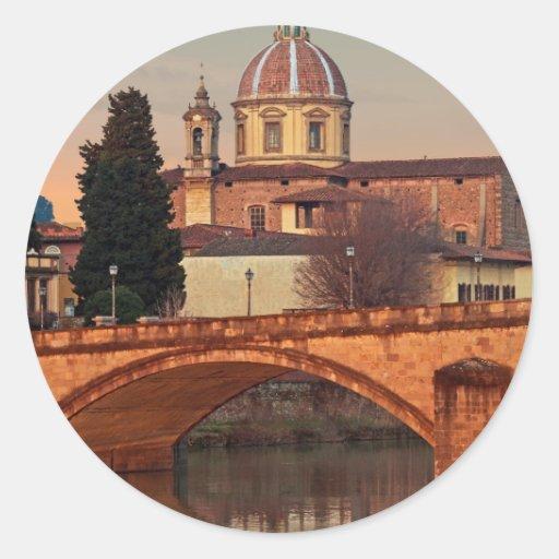 Florence - San Frediano in Cestello Sticker