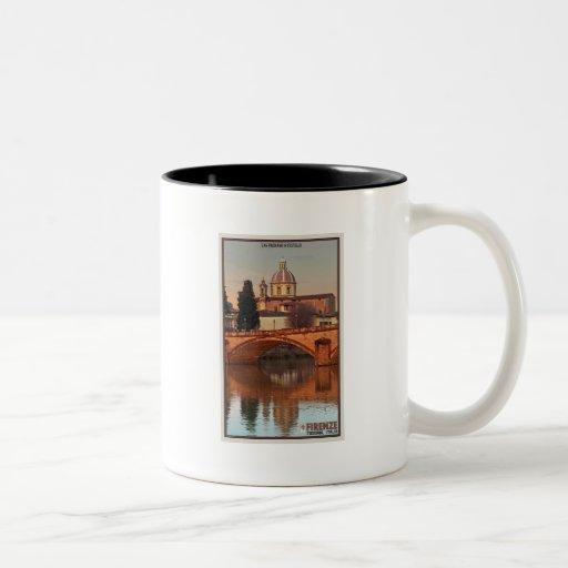 Florence - San Frediano in Cestello Two-Tone Coffee Mug