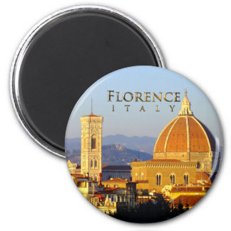 Florence - Santa Maria del Fiore 2 Inch Round Magnet