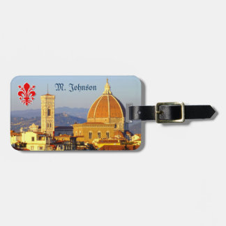 Florence - Santa Maria del Fiore Bag Tag