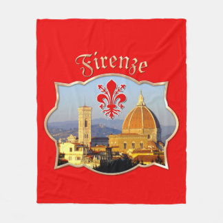 Florence - Santa Maria del Fiore Fleece Blanket