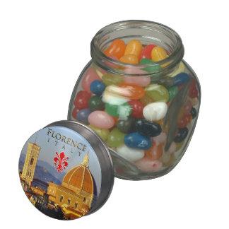 Florence - Santa Maria del Fiore Glass Jar