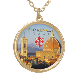 Florence - Santa Maria del Fiore Gold Plated Necklace