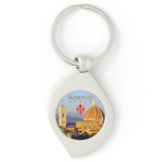 Florence - Santa Maria del Fiore Keychain