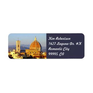 Florence - Santa Maria del Fiore Label