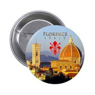 Florence - Santa Maria del Fiore Pinback Button