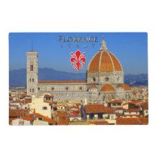 Florence - Santa Maria del Fiore Placemat