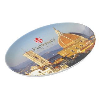 Florence - Santa Maria del Fiore Porcelain Serving Platter