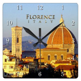 Florence - Santa Maria del Fiore Square Wall Clock