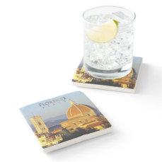 Florence - Santa Maria del Fiore Stone Coaster