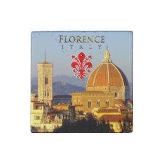 Florence - Santa Maria Del Fiore Stone Magnet at Zazzle
