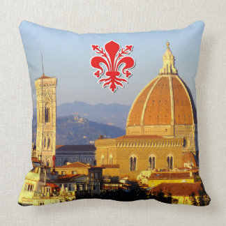 Florence - Santa Maria del Fiore Throw Pillow