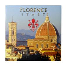 Florence - Santa Maria del Fiore Tile
