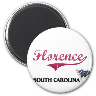 Florence South Carolina City Classic Magnet