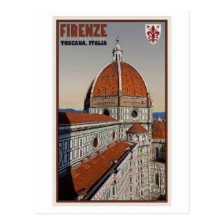 Florence - The Duomo Postcard