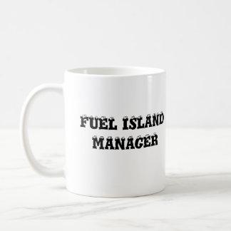 FLORENCE TRAVEL PLAZA, FUEL ISLAND MANAGER CLASSIC WHITE COFFEE MUG