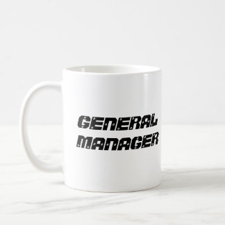 FLORENCE TRAVEL PLAZA, GENERAL MANAGER CLASSIC WHITE COFFEE MUG