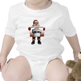 Florence Y all Santa infant Bodysuits
