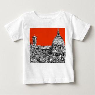 Florencia anaranjada brillante camisas