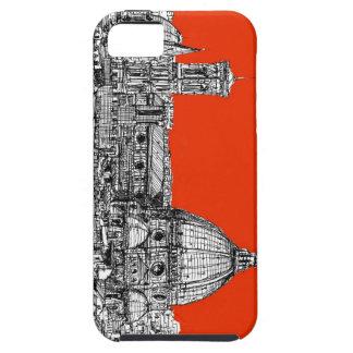 Florencia anaranjada brillante iPhone 5 carcasas