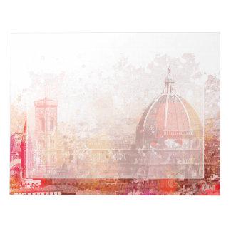 Florencia - basílica Santa María de la flor Bloc De Notas
