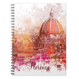 Florencia - basílica Santa María de la flor Cuadernos