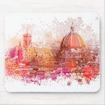 Florencia - basílica Santa María de la flor Mouse Pad