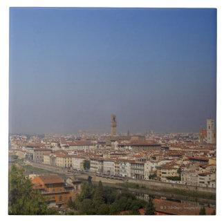 Florencia de 'Piazzale Michelangelo Azulejo Cuadrado Grande
