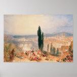 Florencia de San Miniato cercano, 1828 Posters