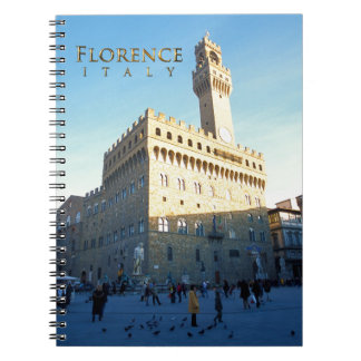 Florencia - della Signoria de la plaza Libros De Apuntes