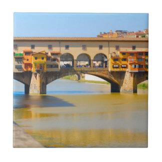 Florencia - Firenze, vecchio de Ponte Teja Ceramica