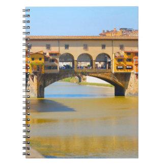 Florencia - Firenze vecchio de Ponte Cuadernos