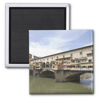 Florencia, Italia 5 Imán Cuadrado