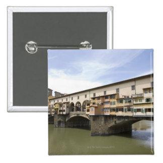 Florencia, Italia 5 Pin Cuadrada 5 Cm