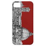 Florencia Italia en rojo iPhone 5 Case-Mate Coberturas
