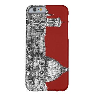 Florencia Italia en rojo Funda Para iPhone 6 Barely There