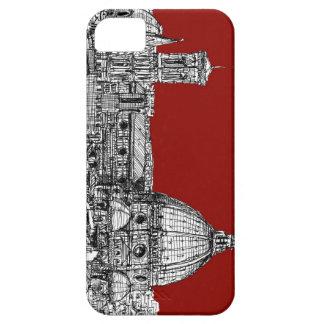 Florencia Italia en rojo iPhone 5 Carcasas