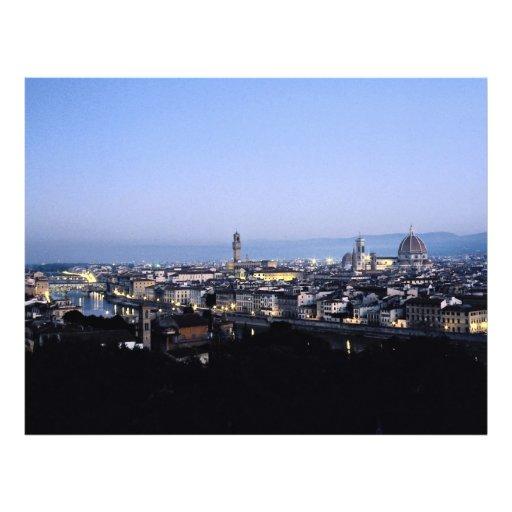 Florencia, Italia Tarjeton