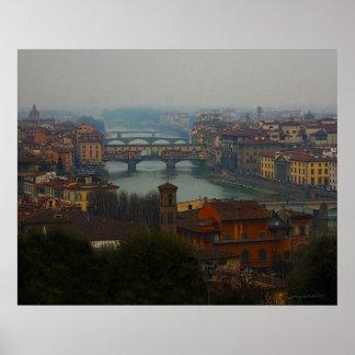 Florencia Italia Póster