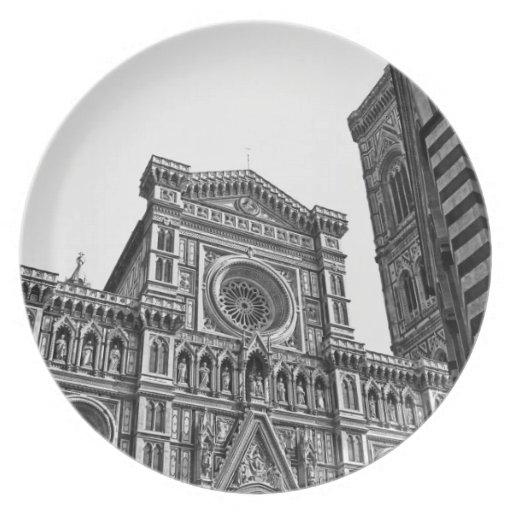 Florencia - placa platos para fiestas