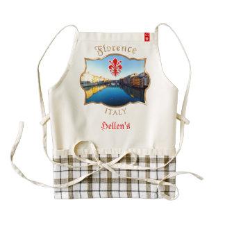 Florencia - Ponte Vecchio Delantal Zazzle HEART