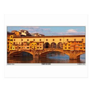 Florencia - Ponte Vecchio Pano Postal